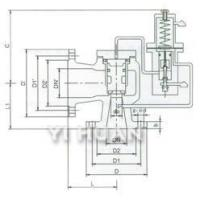 Quality A46C Type Pilot-Operated Pressure Relief Valve wholesale