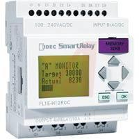 Controllers IDEC CorporationController,8 Digital In,4 Relay Out,100-240V AC/DC,LCD,EEPROM,SmartRelay Products>Automation & Control>Controllers>Programmable Controllers>Logic Controllers>FL1E-H12RCC