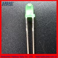 Quality 3mm round led(3.0*5.3) green color wholesale