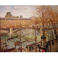 Quality Impressionist(3830) The_Pont_du_Carrousel,_Afternoon wholesale