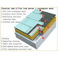 Flat Lock Roofing System
