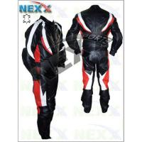 Quality Transformer Flame Striped Leather Biker Motorcycle Suit wholesale