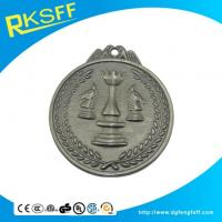 Best Zinc Alloy Chess Silver Medals wholesale