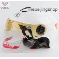 Quality Scooter Motorcycle helmet w/ Lens, Reflective sticker wholesale