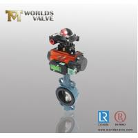 Quality Pneumatic limit switch with standard axle pinless Wafer Butterfly Valve wholesale
