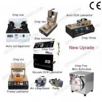 Latest Full set LCD Screen Refurbish machine for Max 7 inch Mobile phone