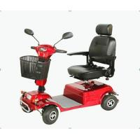 Electric four wheels handicapped scooter