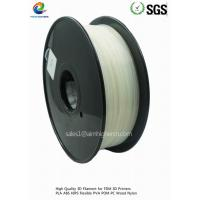 Quality PLA filament Natural color 1.75/3.0mm wholesale
