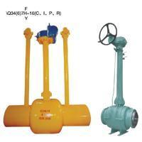 Quality Buried (buried) type of all welded ball valve wholesale