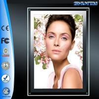Factory prices backlit picture display led crystal light box slim
