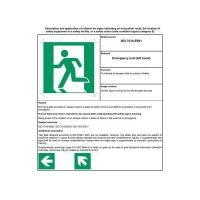Quality English safety sign E-001 wholesale