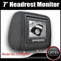 Quality 7 inch car headrest TV monitors / car backseat monitors for back seat entertainment system CH7018H wholesale