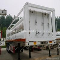 Quality PZ25-4000-610 type CNG Storage jumbo Cylinder Skid-Mounted Transportation equipm wholesale