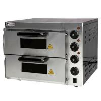 Best 16 inch double deck pizza oven Bakery Equipments wholesale