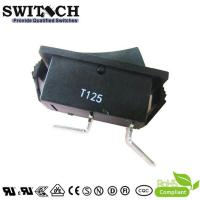 Quality R11-51SW1BB good quality paddle switch SPST 2 pins T125 rocker switch wholesale