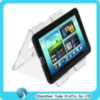 Quality double sides acrylic laptop holder clear acrylic PAD riser wholesale