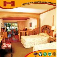 Quality OEM outsourcing Standard Room solid wood mirrored model hotel furniture bedroom wholesale