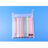 translucent PVC zipper bag for pencil
