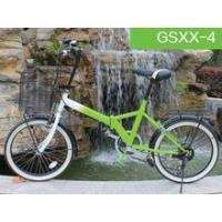 2015 new products 26 inch iron green folding bike with 6S for sale