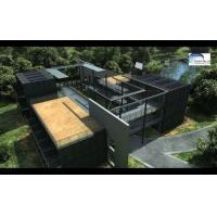 Quality Solar Panel Prefab Container Homes Fully Finished Movable For Office wholesale