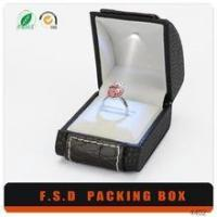 Quality Luxury Design Insert Led Light Small Man Gift Boxes For Ring wholesale