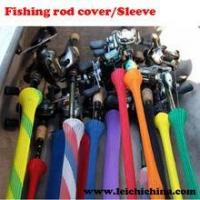 Quality colorful fishing rod covers/sleeves wholesale