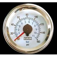 Best Talon Viair 2 Inch Dual Needle Air Gauge with Illuminated White Face - 90083 wholesale
