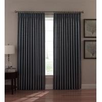 Quality Dover Thermal Insulated Pinch Pleated Drapes with Woven Scroll Fabric wholesale