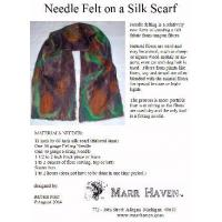 Quality Needle Felt Instructions for Silk Scarf, Hat or Purse wholesale