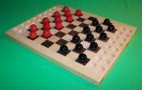 Quality Wooden Checkers Marble Game Board [W-1930] wholesale