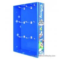 Buy cheap colorful retail peg hook showing rack from wholesalers