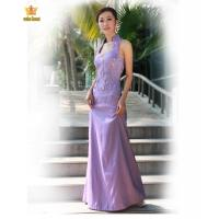Quality 2200#Lavender cheongsam style of formal dress wholesale