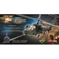 Quality RC 3 Channels Apache Helicopter RTF - EC 10149 - Free Shipping wholesale