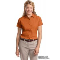 Quality Apparel & Clothing AB1010Ladies Easy Care Short Sleeve Shirt wholesale