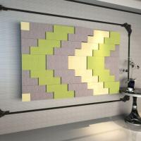Acoustics Panels Polyester Fiber Sound Insulation Panel Culture Wall