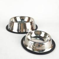 No-Slip Pet Puppy Food Container Cat Water bowl Stainless Dog Bowl