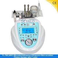 Quality Super Diamond Microdermabrasion Series YL-706 (4in1) Microdermabrasion with LCD wholesale