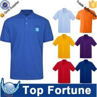 Quality OEM golf polo shirt for men professional manufacturer wholesale