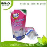chinese plastic laundry liquid detergent pouch