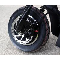 Quality 10 Inch 48V 2000W Dual Drive Double Shock Absorber Disc Brake Double Motor Scooter wholesale