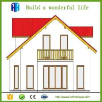 2017 Export low cost prefab house designs for kenya