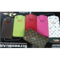 LEATHER FLIP CASE LV style POUCH FOR IPHONE 3G 3GS P036