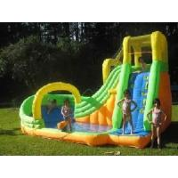 use inflatable water slide with pool residential inflatable water slides