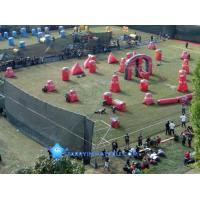 inflatable bunker for Speedball game