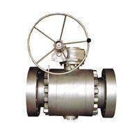 Quality Ball valve Flange connection fixed ball valve wholesale