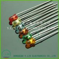 VISIBLE LAMP LED 3mm Round with flange
