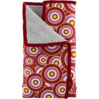 Deltaco Dual Function Microfiber Cloth, 180x150mm, Red