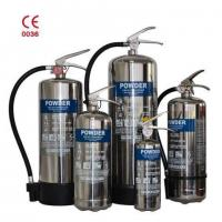 ISO CE European Standard Fire Fighting Equipment Stainless Steel Dry Powder Wheeled Fire Extinguishe