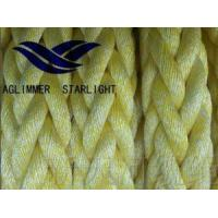 Quality 12 Strand Polyester and Polypropylene Mixed Combined Synthetic Rope wholesale