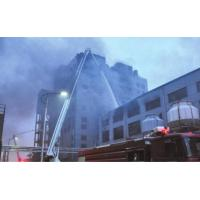 High-rise building fire